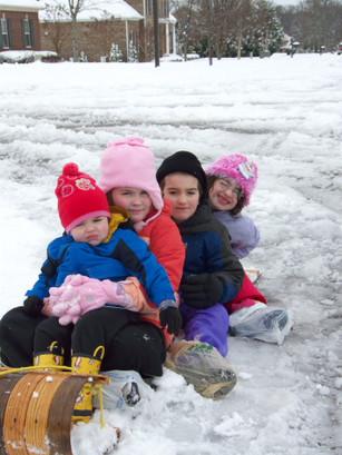 Eli with his siblings
