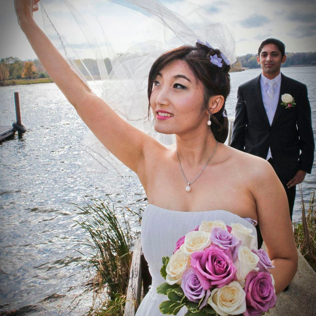 Lake Wedding Bride
