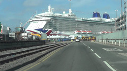 Holiday on a cruise ship