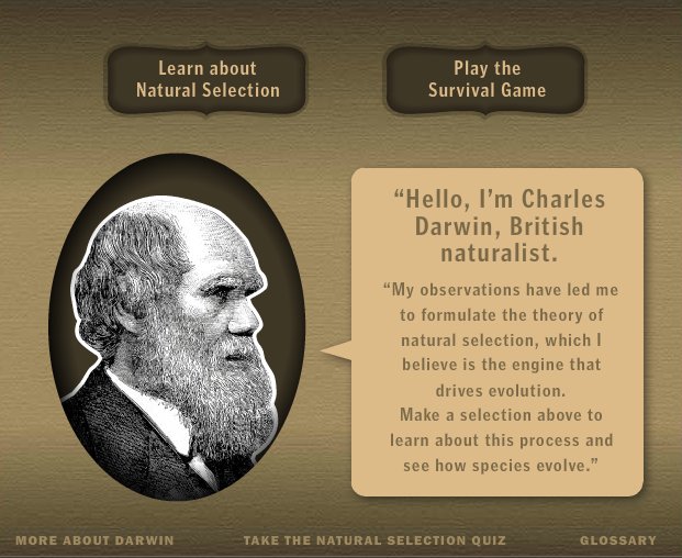Charles Darwin Interactive