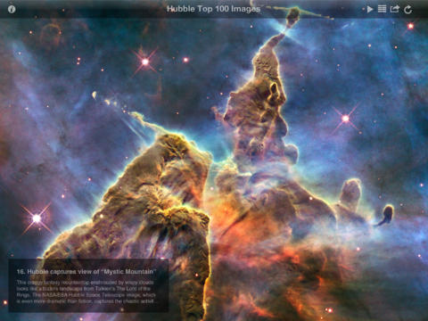 iPad App Hubble Top 100