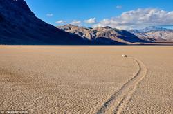 Death Valley's 'sailing stones'?