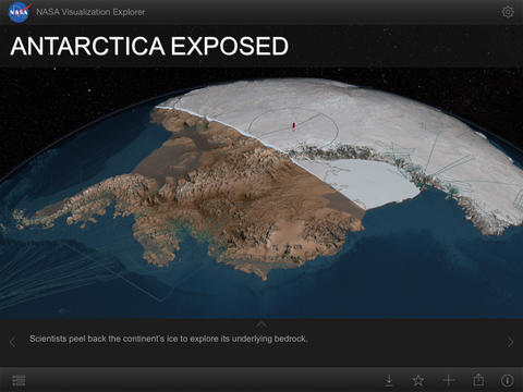 iPad App NASA Visualization Explorer