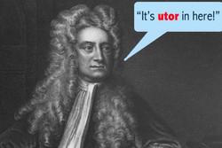 The Language Newton Invented