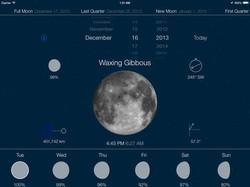 iPad App Moon