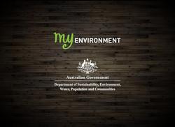 iPad App MyEnvironment