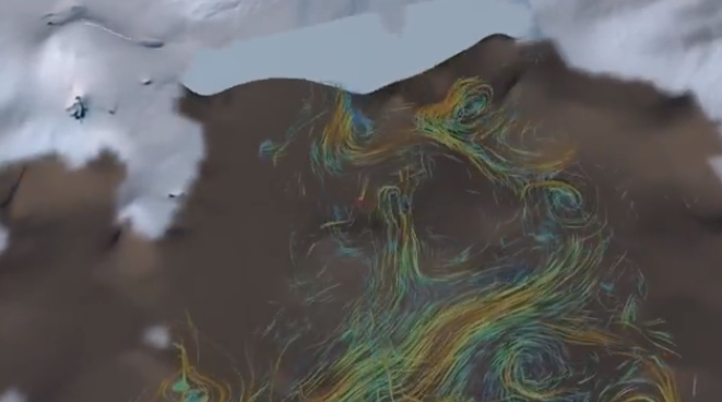 Warm Ocean Rapidly Melting Antarctic