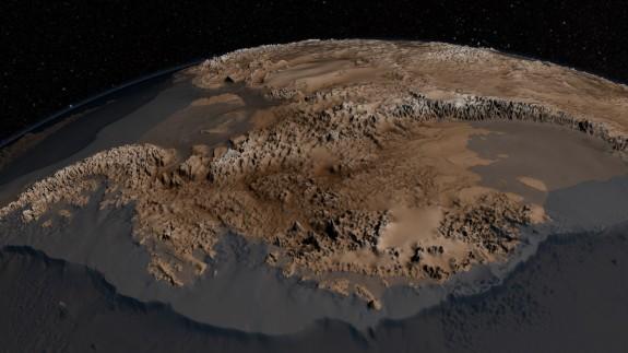 Antarctica With No Ice