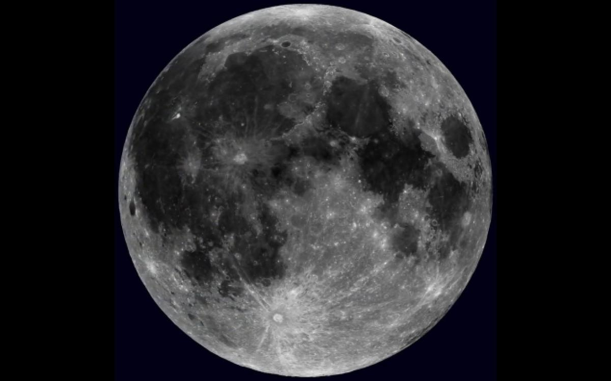 Rotating Moon Video and Images