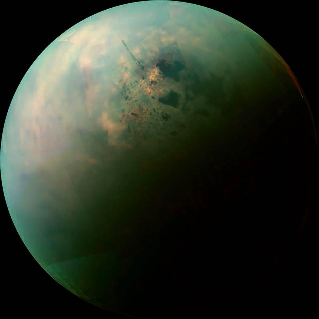 What's the weather like on Titan?