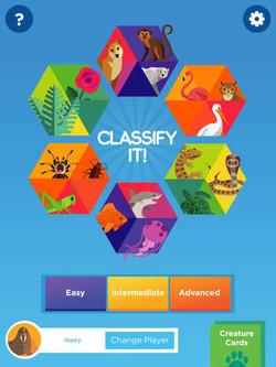 iPad App Classify It!