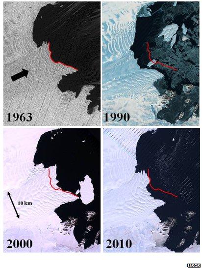 East Antarctic ice sheet ...
