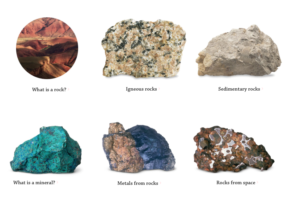 Rocks and Minerals Interactive