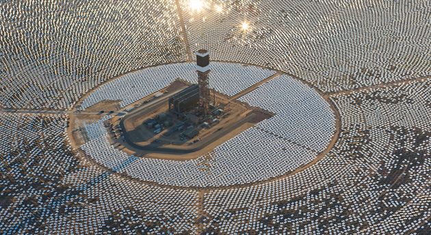 Biggest-Ever Solar Thermal Plant