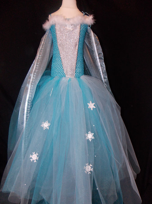 Frozen inspired Elsa dress Handmade