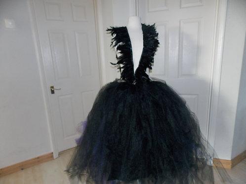Feather dress Big puffy Prom / Wedding skirt sizes 6-28