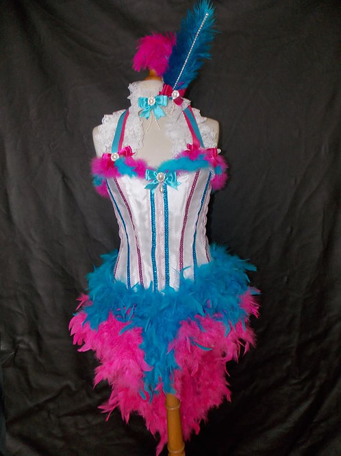 Showgirl themed costume