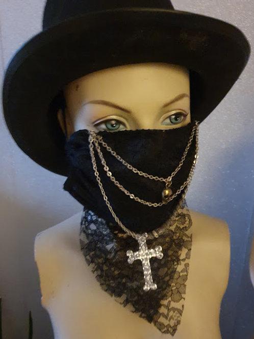 Fashion mask Gothic Alternative Lace mask