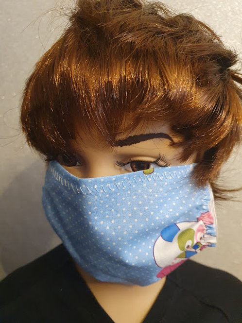 Face mask 100% cotton. Hand Made Protection reusable washable  Adults & Kids