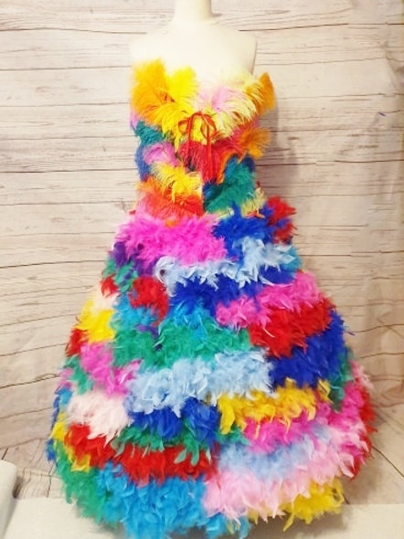 Rainbow Fairy Cyber Rainbow Unicorn Corset set size 14-18
