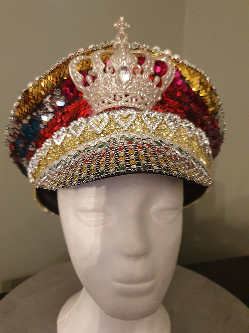 Sequin and Diamante hat ideal for Festival