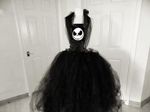Ladies Jack Skellington Nightmare Before Christmas Inspired Halloween Dress