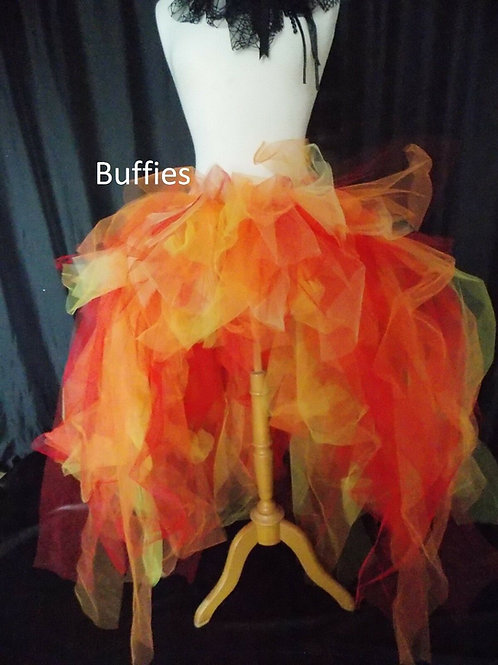 Red Orange yellow tutu