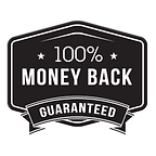 30 Day 100% Money Back