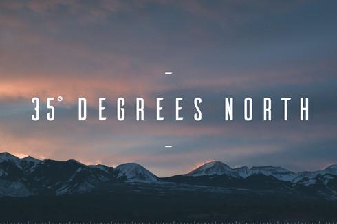 35 Degrees North Logo