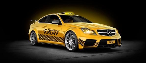 Taxi Digital Illustration