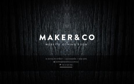 MAKER & CO