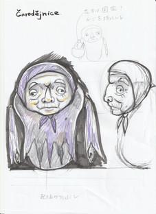 「Zlatovlázka」_sketch 2018