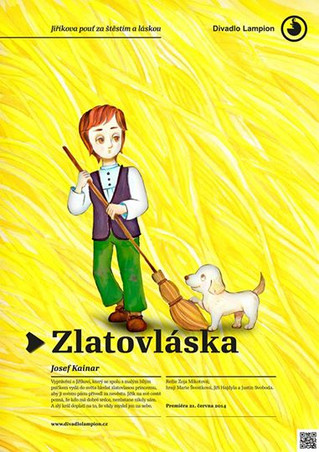 Poster_「Zlatovláska」2014