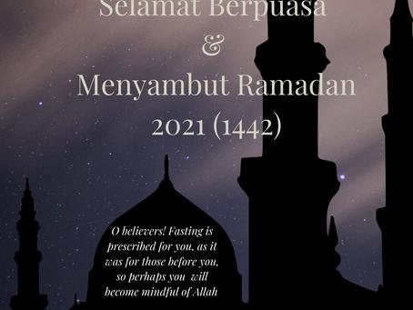 Selamat Menyambut Ramadan 2021
