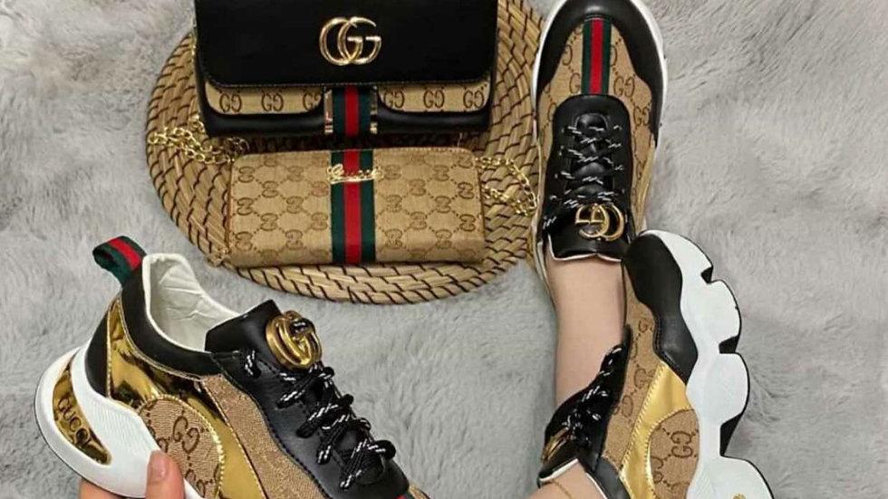 Gucci matchin mini bag set