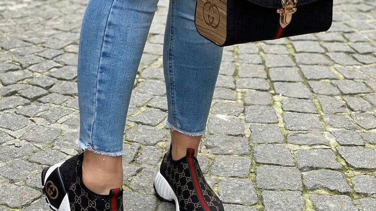 Gucci satchel bag set