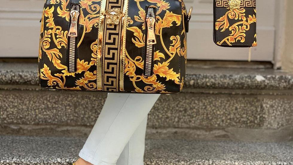 Versace matching handbag set