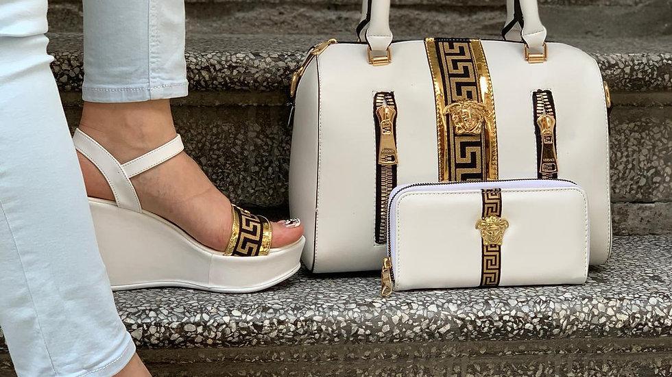 """Versace Bagroo """"Kelly"""" bag set"""