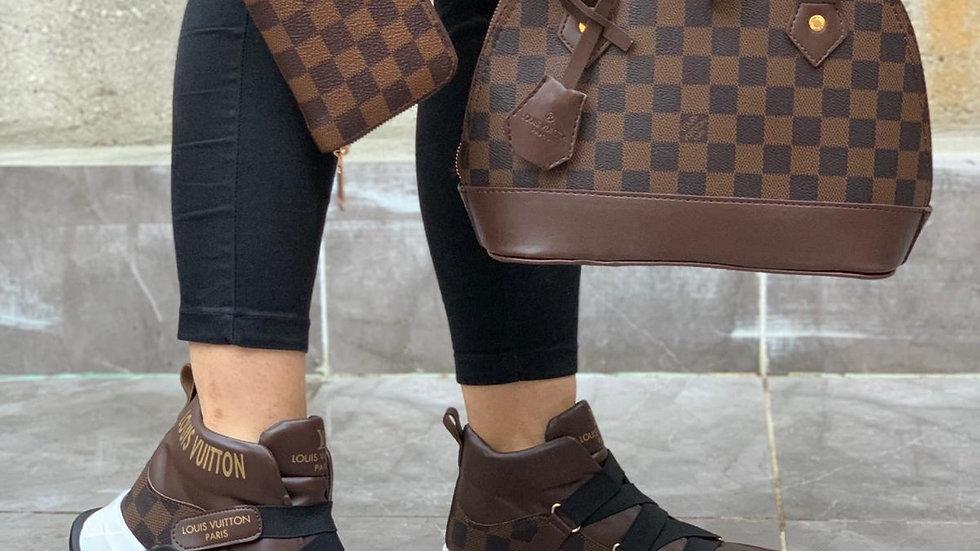 Louis Vuitton dark set