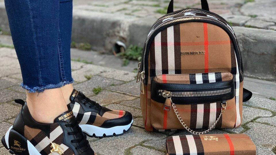 BurBerry Backpack set