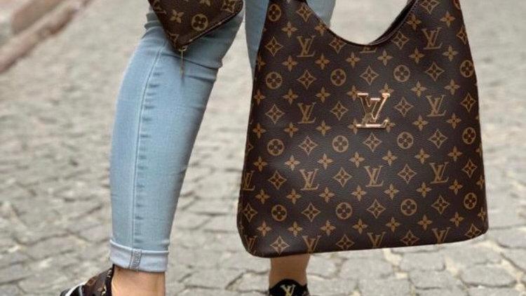 Loius Vuitton bucket bag set
