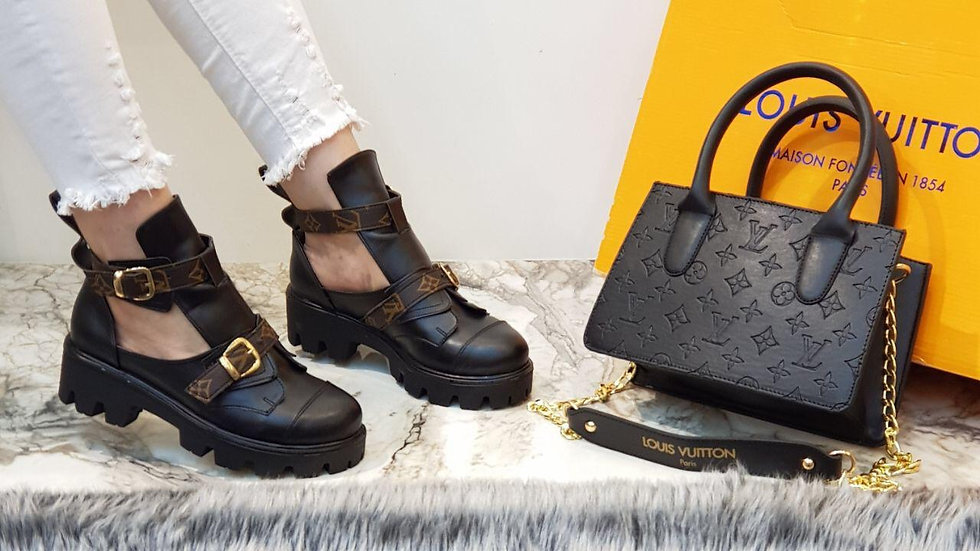 Louis Vuitton open patent Chunky set