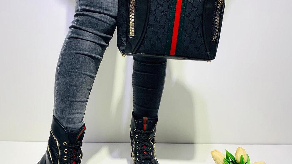Gucci Oxford Black boots set