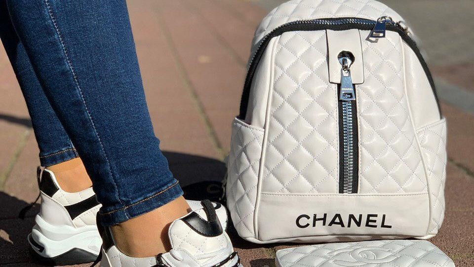 Chanel back pack set