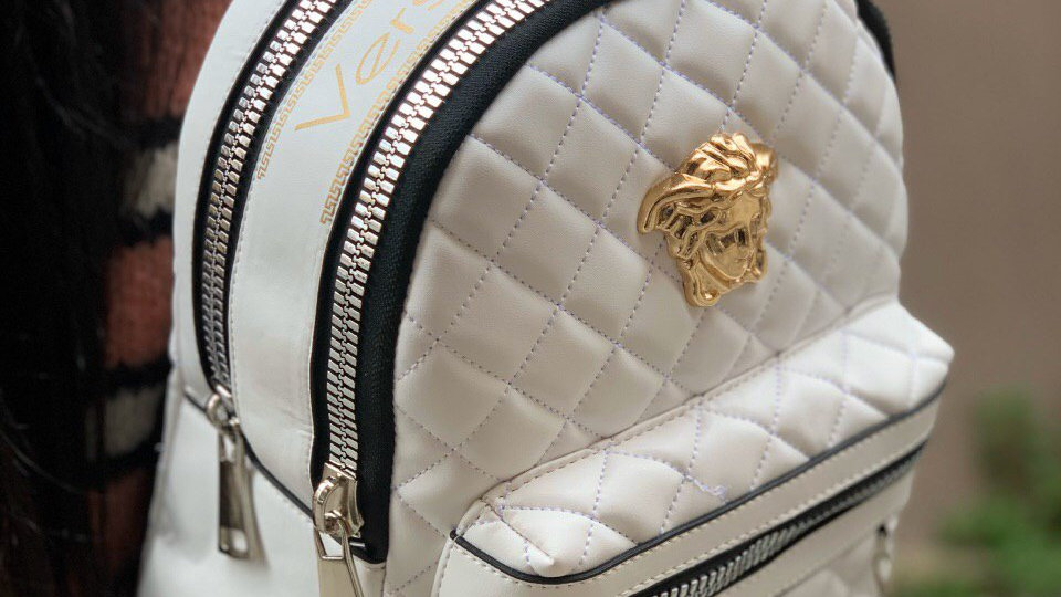 Versace back pack