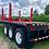 Thumbnail: 2007 Lufkin Tri-Axle Flatbed Trailer