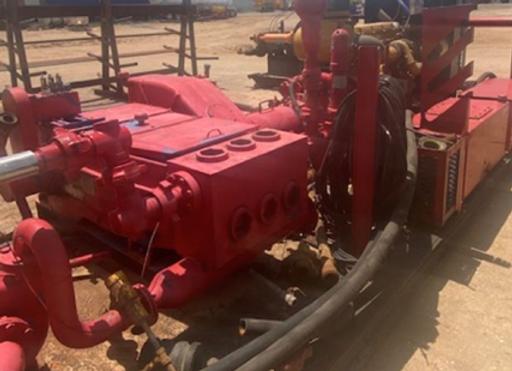 HS-340S Skid Pump