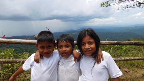 at the Sacha Warmi Center in Puyo, Ecuador