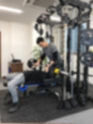 香椎千早店トレーニング風景