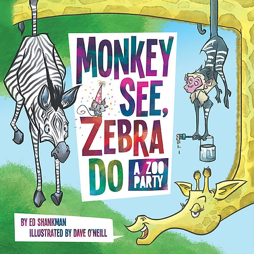 Monkey See, Zebra Do: A Zoo Party